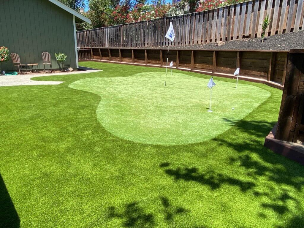 Phoenix, AZ for Backyard Putting Greens
